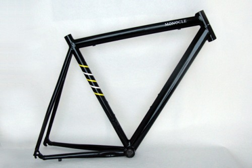 Monocle x Death Spray Custom Bicycle Frame