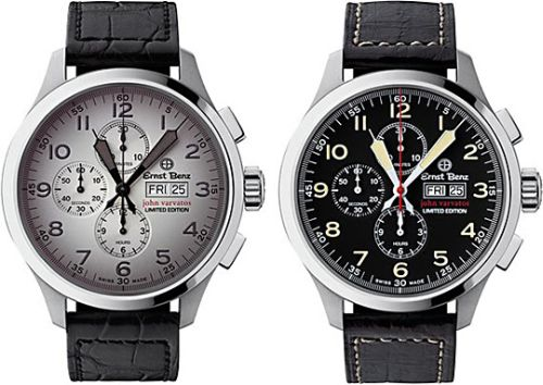 Ernst Benz Chronoscopes for John Varvatos