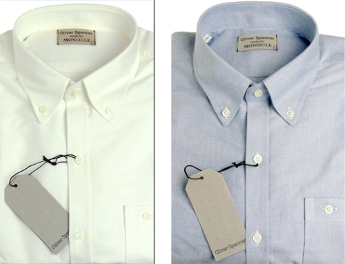 Monocle x Oliver Spencer Oxford Shirts
