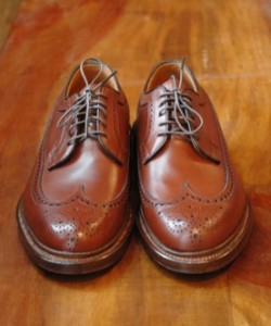 Alden Longwings for Winn Perry