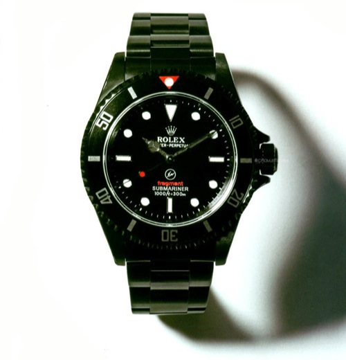 fragment design x Bamford & Sons Custom Rolex Submariner