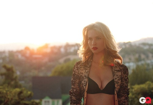 January Jones x Terry Richardson [GQ]