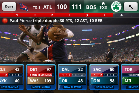 Watch NBA Games Live on iPhone and Android