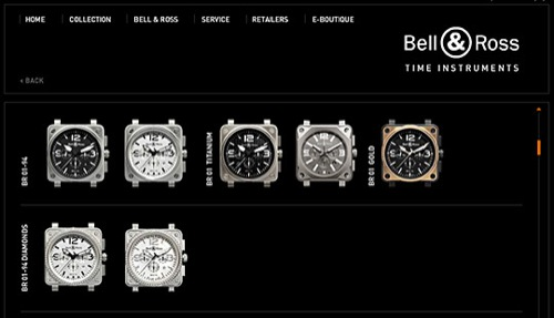 Bell & Ross Online Boutique