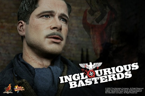 Hot Toys Lt. Aldo Raine Actino Figure [Inglourious Basterds]