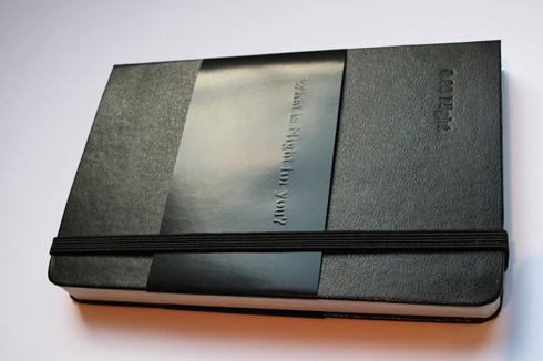 "Moleskine x Zeropuntozerozero ""0.00 Night"" Notebook"