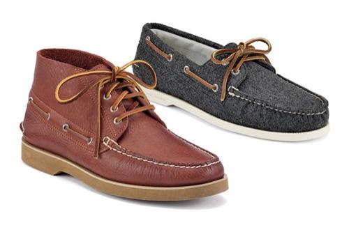 Sperry Fall/Winter 2010 Footwear