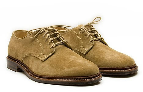 Alden Suede Summer Oxford