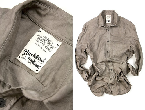 Naturally Dyed Oxford Shirts by Blackbird