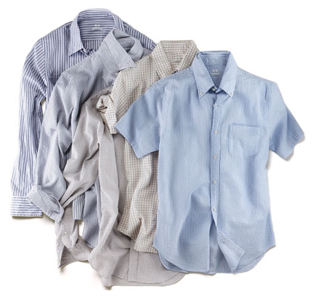 Spring Essential: The Seersucker Shirt