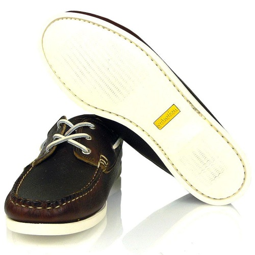 Yuketen Grain Brown Boat Shoe [S/S 2010]