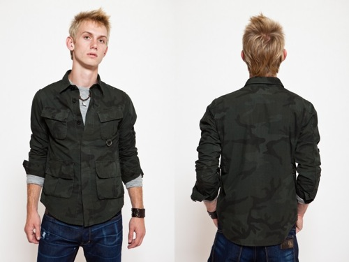 Nom de Guerre Commando Shirt Jacket [S/S 2010]