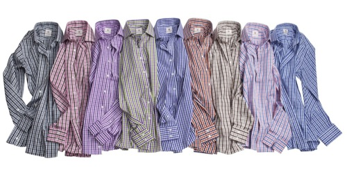 Alexander West x Thomas Mason Gingham Shirts [Spring/Summer 2010]