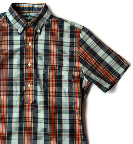 Gitman Vintage Madras Pop Over Shirt
