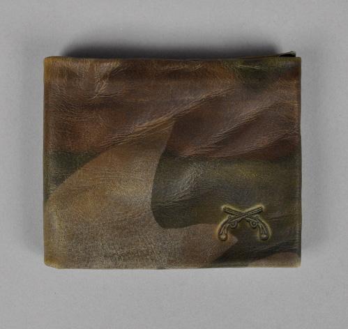 Maxx & Unicorn Camouflage Washed Leather Wallet