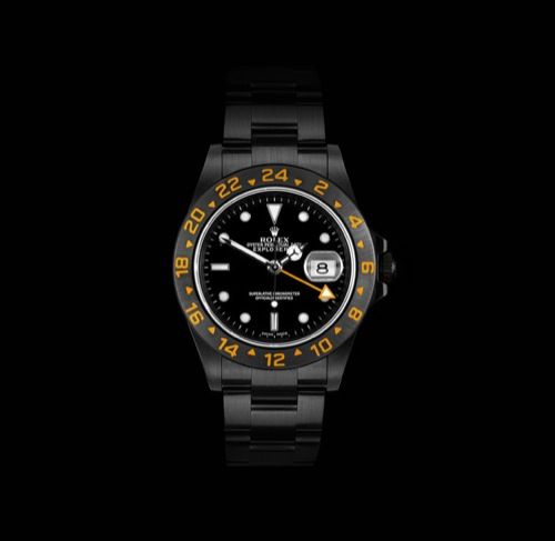 Project X Designs Rolex Explorer II with Orange Hand
