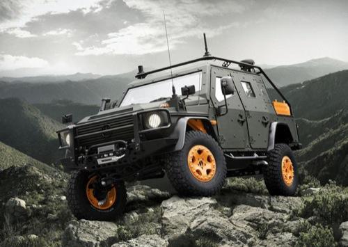 Mercedes-Benz G-Wagon LAPV 6.X Concept [Design]