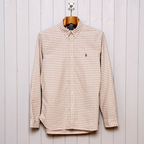 Ralph Lauren Slim Fit Tattersall Shirt
