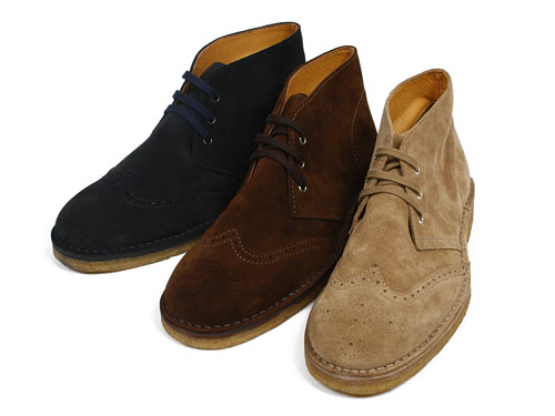 "Beauty & Youth 'Made in Italy"" Suede Boots [Fall 2010]"