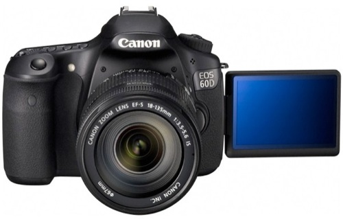 Canon EOS 60D Delivers 18 Megapixels, 1080p Video this September