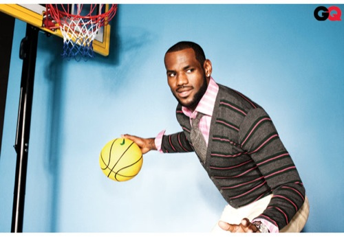 Fall 2010 | LeBron James in GQ September 2010