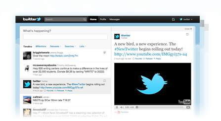 Introducing | The New Twitter.com