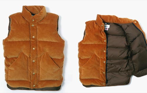 Warehouse x Crescent Down Works Corduroy Vest