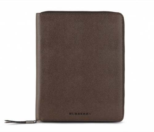 The Want | Burberry London Leather iPad Case