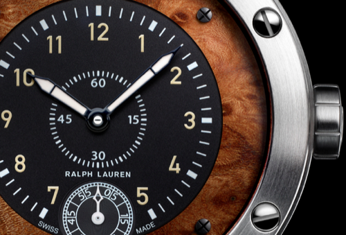 The Ralph Lauren Sporting Watch With Elm Burl Wood Dial
