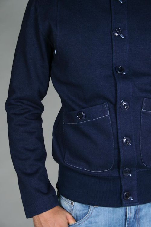 You Must Create | YMC Indigo Sweat Work Jacket
