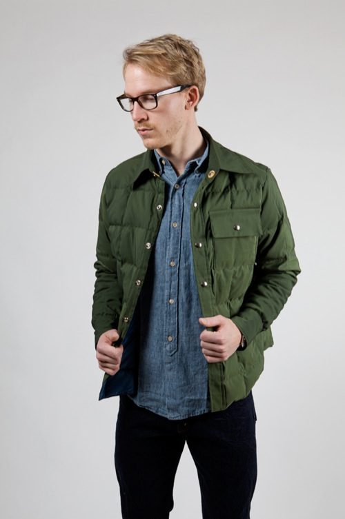 Crescent Down Works Down Shirt