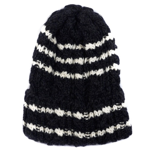 The Want | Highland 2000 Cable Knit Hat