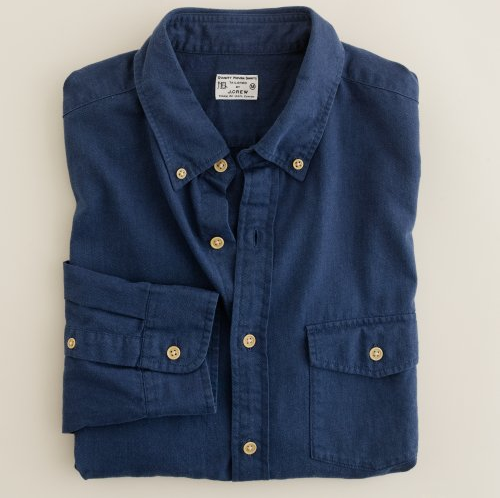 The Buy | J.Crew Brushed Twill Utility Shirt
