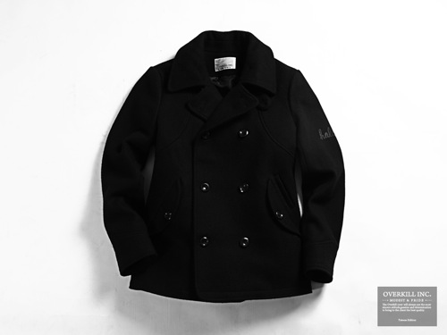 F/W 2010 | Overkill Inc. Slogan Double Breasted Coat