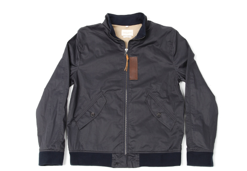 Levi's Made & Crafted Waxed Cotton Bomber Jacket