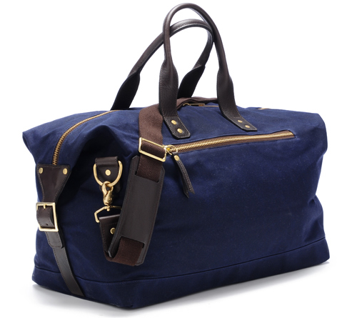 Ernest Alexander Wax Canvas Weekend Bag - Por Homme - Contemporary ...