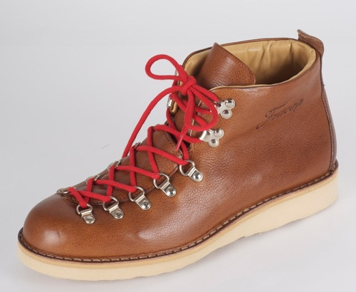 Fracap Tan Scarponcini Hiking Boot
