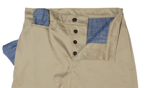 Left Field NYC Japanese Twill Khaki Chinos