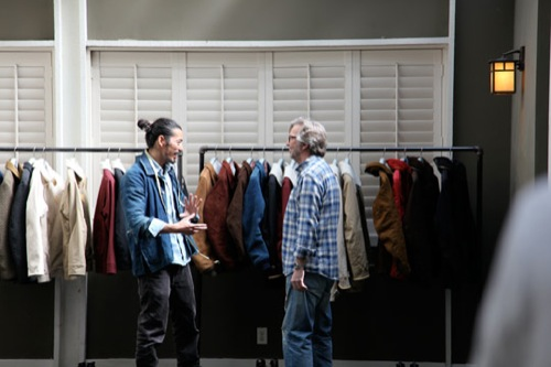 Inside Look | visvim Fall 2011 Trunk Show at Union LA
