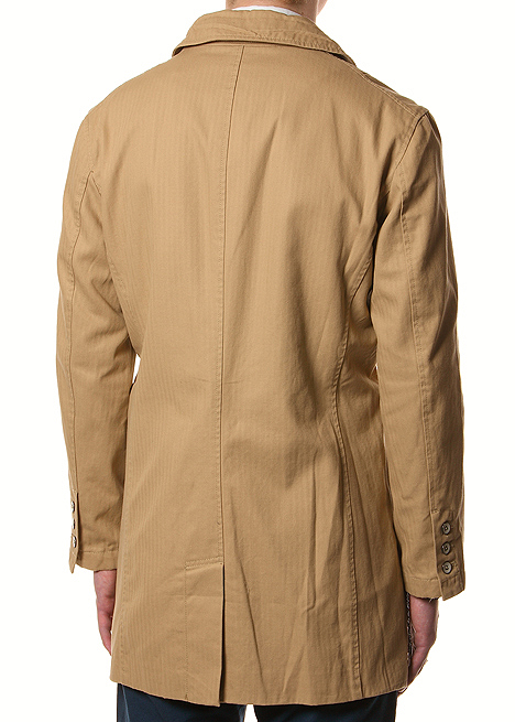 Creep by Hiroshi Awai Cotton Shop Coat