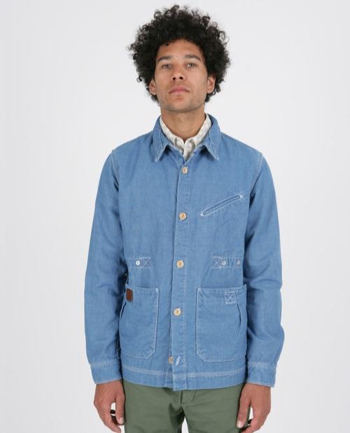 Limited Edition   Folk Grafters Jacket in DF Indigo