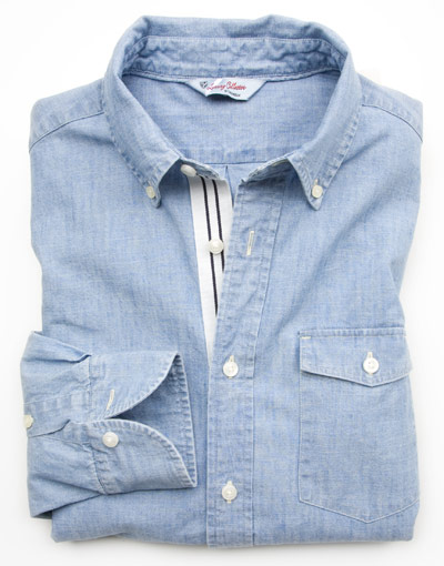 J.Press x Cremieux | New Castle Chambray Shirt