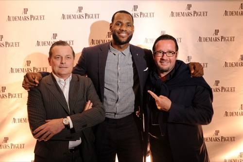LeBron James Becomes Audemars Piguet Global Brand Ambassador