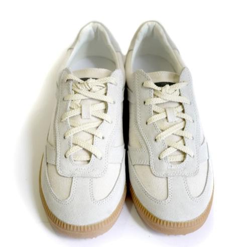 Robert Geller Low Top Canvas Sneakers