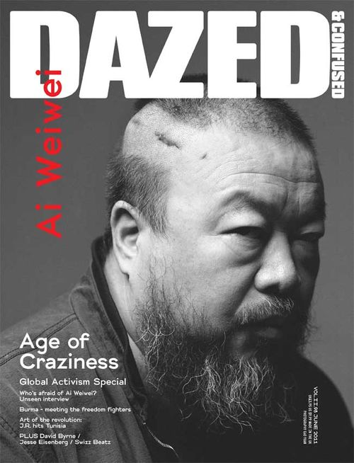 Ai Weiwei in Dazed & Confused June 2011 Issue