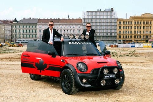 dsquared life ball mini cooper s red mudder 2012 1 DSQUARED² Life Ball Mini Cooper S Red Mudder