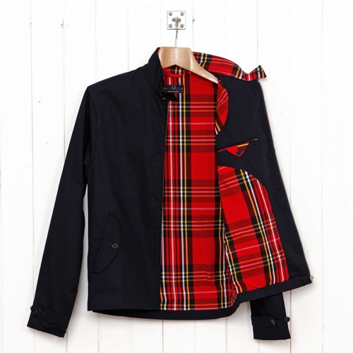 Fred Perry Laurel Wreath Collection Harrington Jacket