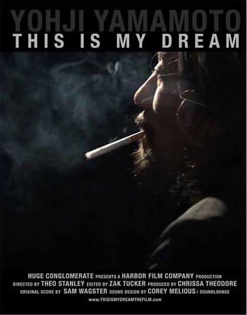 Yohji Yamamoto 'This is My Dream' Trailer