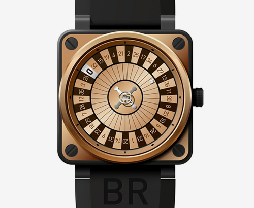 Only Watch | Bell & Ross BR 01 Casino Watch