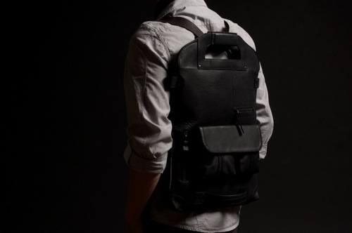 hard graft 2Unfold Nero Laptop Bag